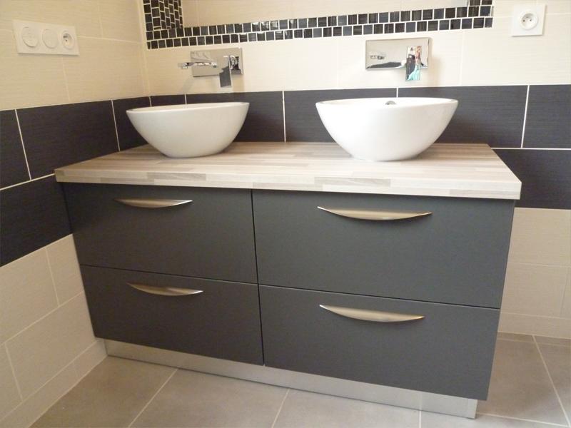 Mobilier de salle de bain sur mesure dans les landes 40 for Mobilier salle de bains
