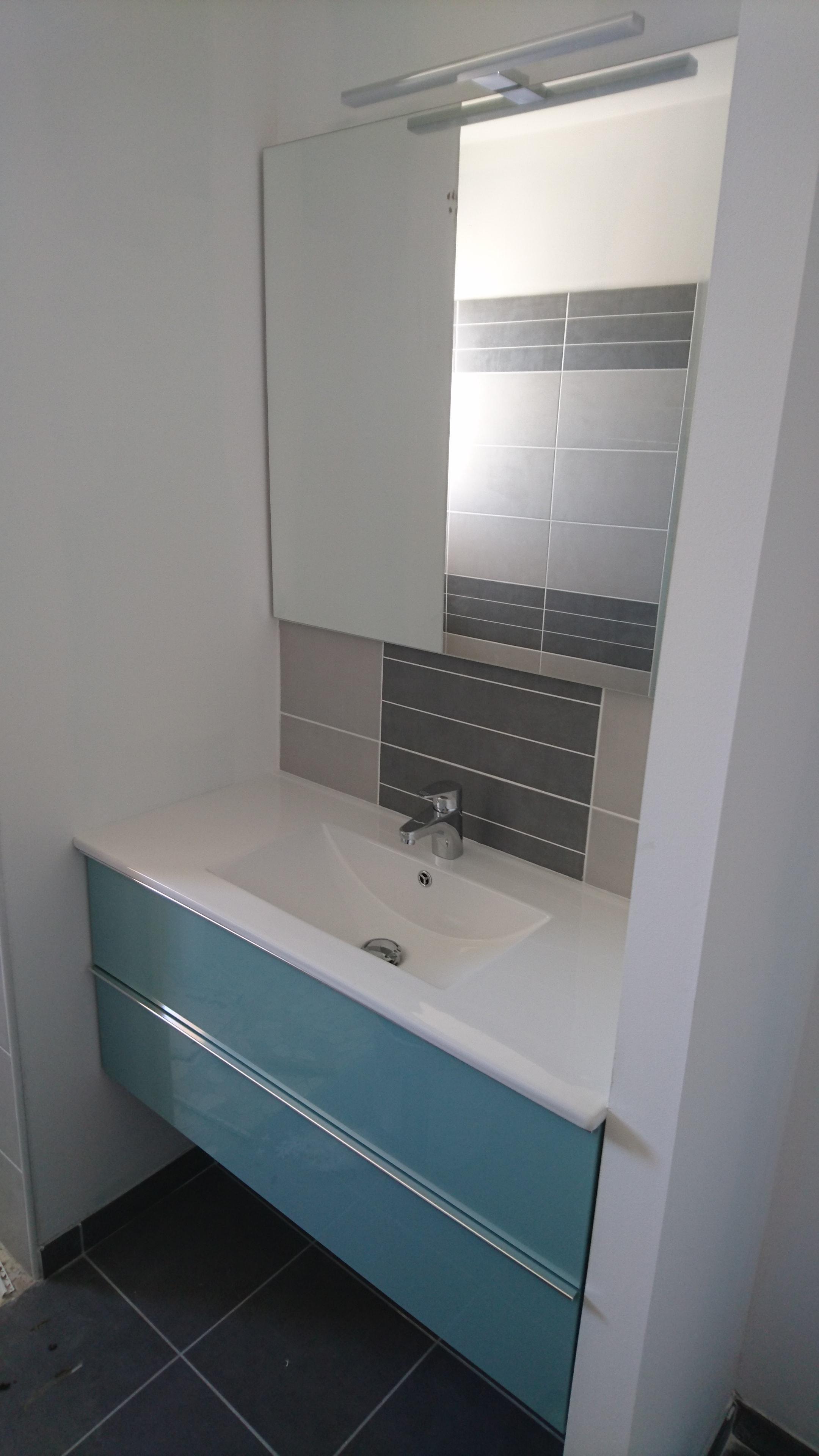 Meuble Salle De Bain Tiroir Suspendu ~ mobilier de salle de bain sur mesure dans les landes 40