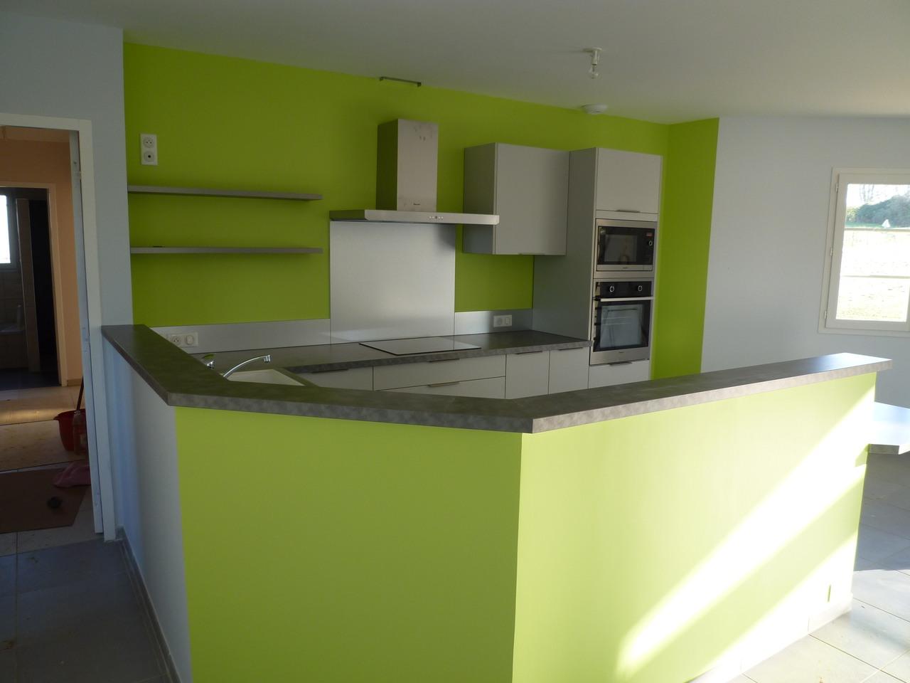 Cuisine equipee electromenager maison moderne for Cuisine equipee moderne