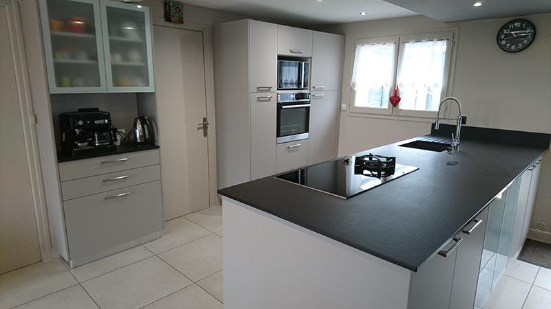 dekton ou ceramique plan de travail haut de gamme en. Black Bedroom Furniture Sets. Home Design Ideas